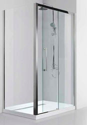 CABINA DUS S/S400  128X190 8MM CLEAR